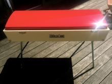 Rhodes mark I Custom Red  Cadillac